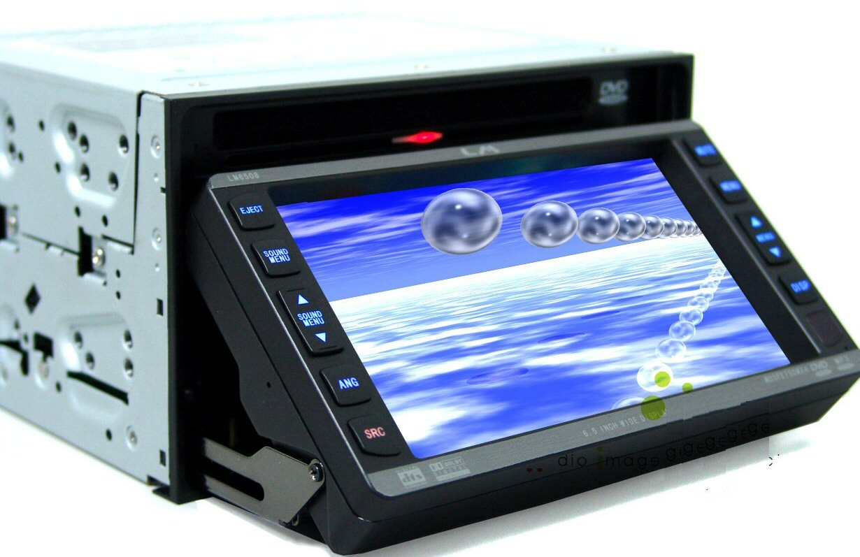touch screen cd player canvas
